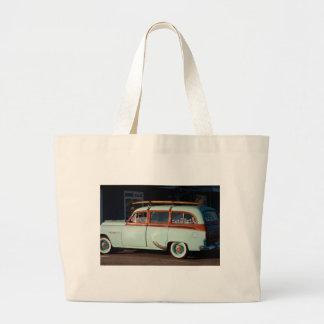 Old Woody Pontiac Canvas Bag
