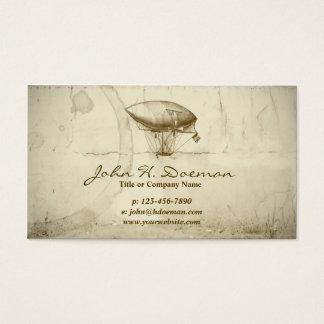 Old World Balloon Business Card