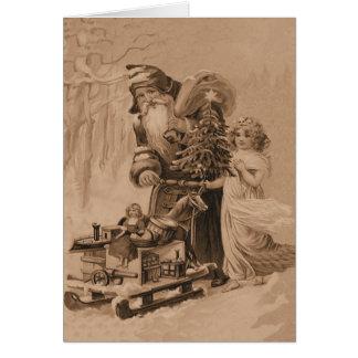 old world christmas greeting card