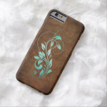Old World Faux Leather Barely There iPhone 6 Case