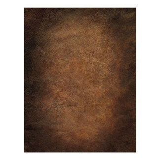 Old World Faux Leather Letterhead