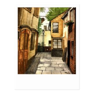Old World Feeling Postcard