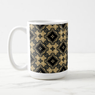 Old World Gold Lace Coffee Mug