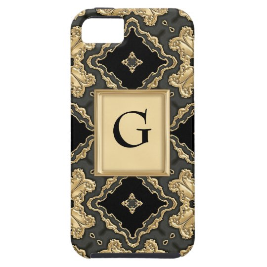 Old World Gold Lace iPhone SE/5/5s Case
