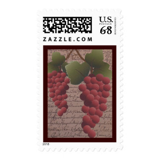 Old World Grapevine Wine Themed Postage