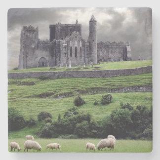 Old world Ireland Stone Coaster