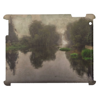 Old World Landscape Fine Art Painting iPad Covers
