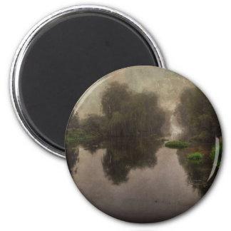 Old World Landscape Fine Art Painting Magnets