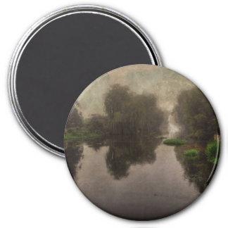Old World Landscape Fine Art Painting Fridge Magnets