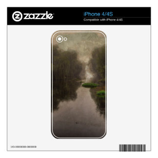 Old World Landscape Fine Art Painting Skins For iPhone 4S