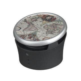 Old World Map 1630 Speaker