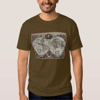 Old World Map 1630 Shirt