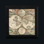 "Old World map 1689 Gift Box<br><div class=""desc"">Old World map 1689</div>"