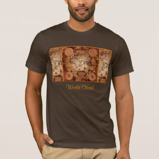 Old World Map Art - 1481 T-Shirt