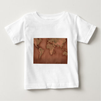 old world map baby T-Shirt