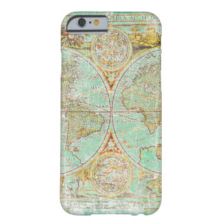 Old World Map Barely There iPhone 6 Case