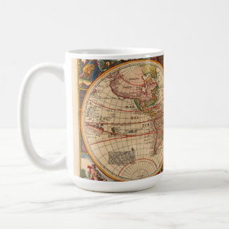Old World Map by Nicolaas Visscher Coffee Mug