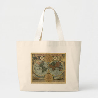 Old World Map Carry Bag Gifts