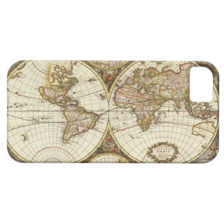 Old World Map iPhone 5 Cases
