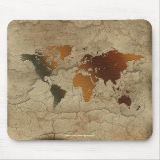 Old World Map Designer Gift Mouse Pad