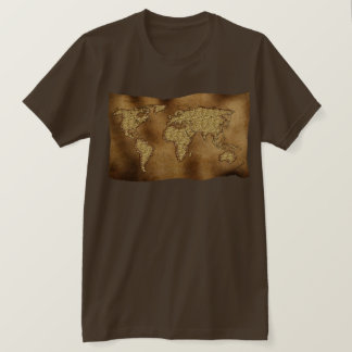 Old World Map Designer Gift T-Shirt