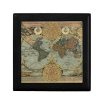 Old World Map Gift Box