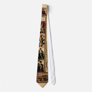 Old World Map Gifts Neck Tie