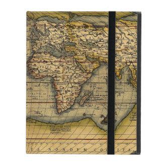 Old World Map iPad Case