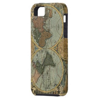 Old World Map iPhone 5 Tough Case