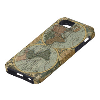 Old World Map iPhone 5 Tough Case iPhone 5 Covers