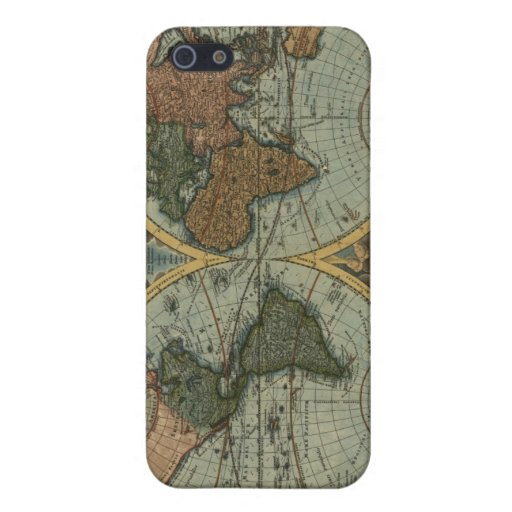 Old World Map iPhone Case iPhone 5 Covers