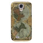Old World Map iPhone Case Samsung Galaxy S4 Cover