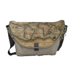 Old World Map Messenger Bag at Zazzle