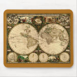 Old World Map Mousepad