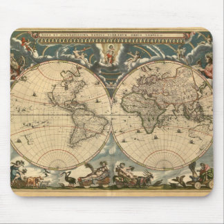 Old World Map - Mousepad