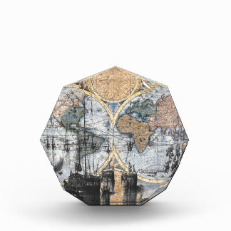 Old World Map - Out to Sea Award
