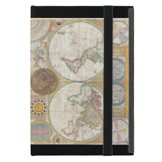 Old World Map w/ Lunar info Vintage iPad Cover