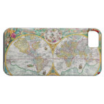 Old World Map with Colorful Artwork iPhone 5 Case