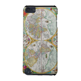 Old World Map with Colorful Artwork iPod Touch (5th Generation) Case