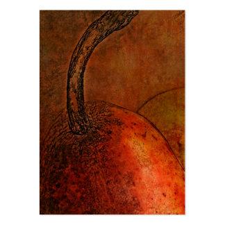 Old World Pear Art Custom Business Cards