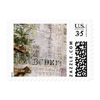 Old world postage stamps