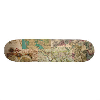 Old World Retro vintage Map looking board