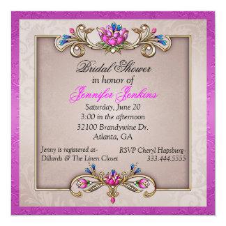 Old World Romance Bridal Shower Invitation
