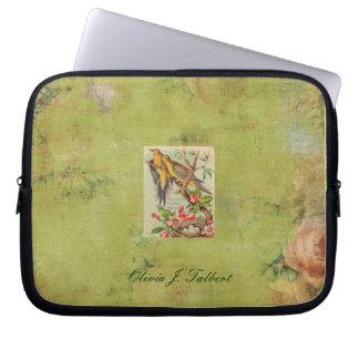 Old World Rose laptop sleeve