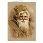 Old World Santa 2 Cards