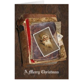 Old World Santa, A Merry Christmas Greeting Card