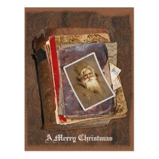 Old World Santa Books, A Merry Christmas Postcard