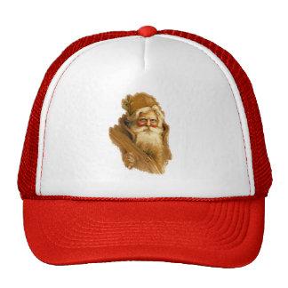 Old World Santa Claus, Vintage Victorian St. Nick Hats