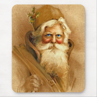 Old World Santa Claus, Vintage Victorian St. Nick Mouse Pad
