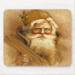 Old World Santa Claus, Vintage Victorian St. Nick Mousepad